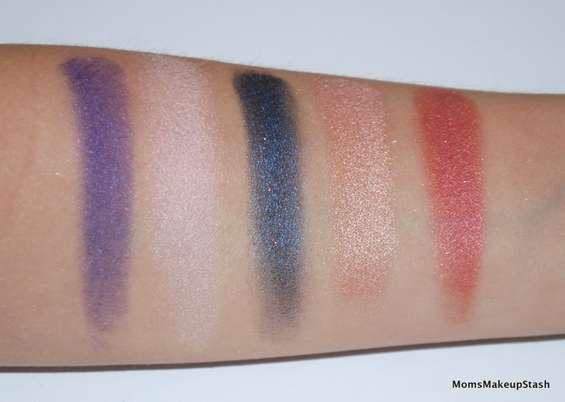 Hello Kitty Palette Swatches 2