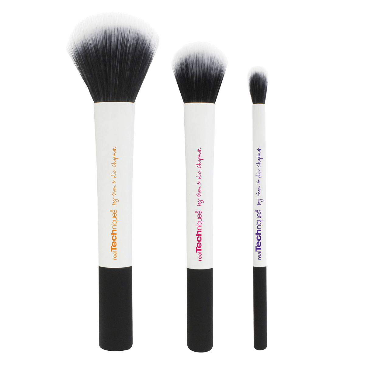Duo fiber brushes