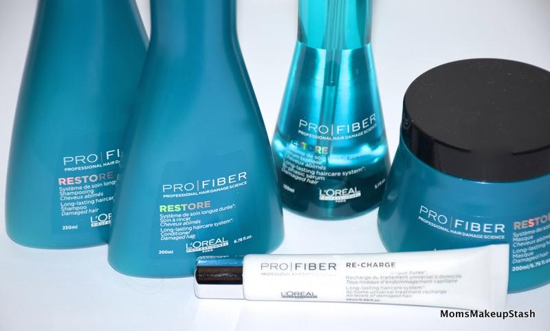pro fiber restore by l 39 oreal professionnel in salon at home moms makeup stash. Black Bedroom Furniture Sets. Home Design Ideas