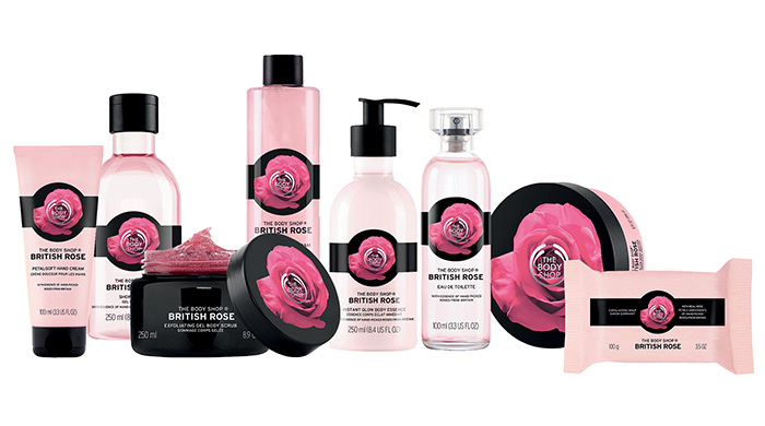 Flower Power The Body Shopu0026#39;s British Rose Collection | Moms Makeup Stash